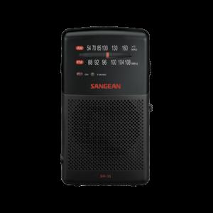 SR-35 아날로그 휴대용 라디오 정면