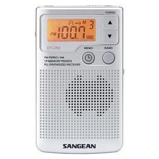 Sangean-DT-250-Pocket-Radio-Front