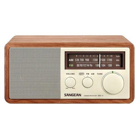 Sangean-WR-11-TableTop-Radio-Front