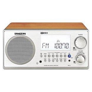 Sangean-WR-2-TableTop-Radio-Front
